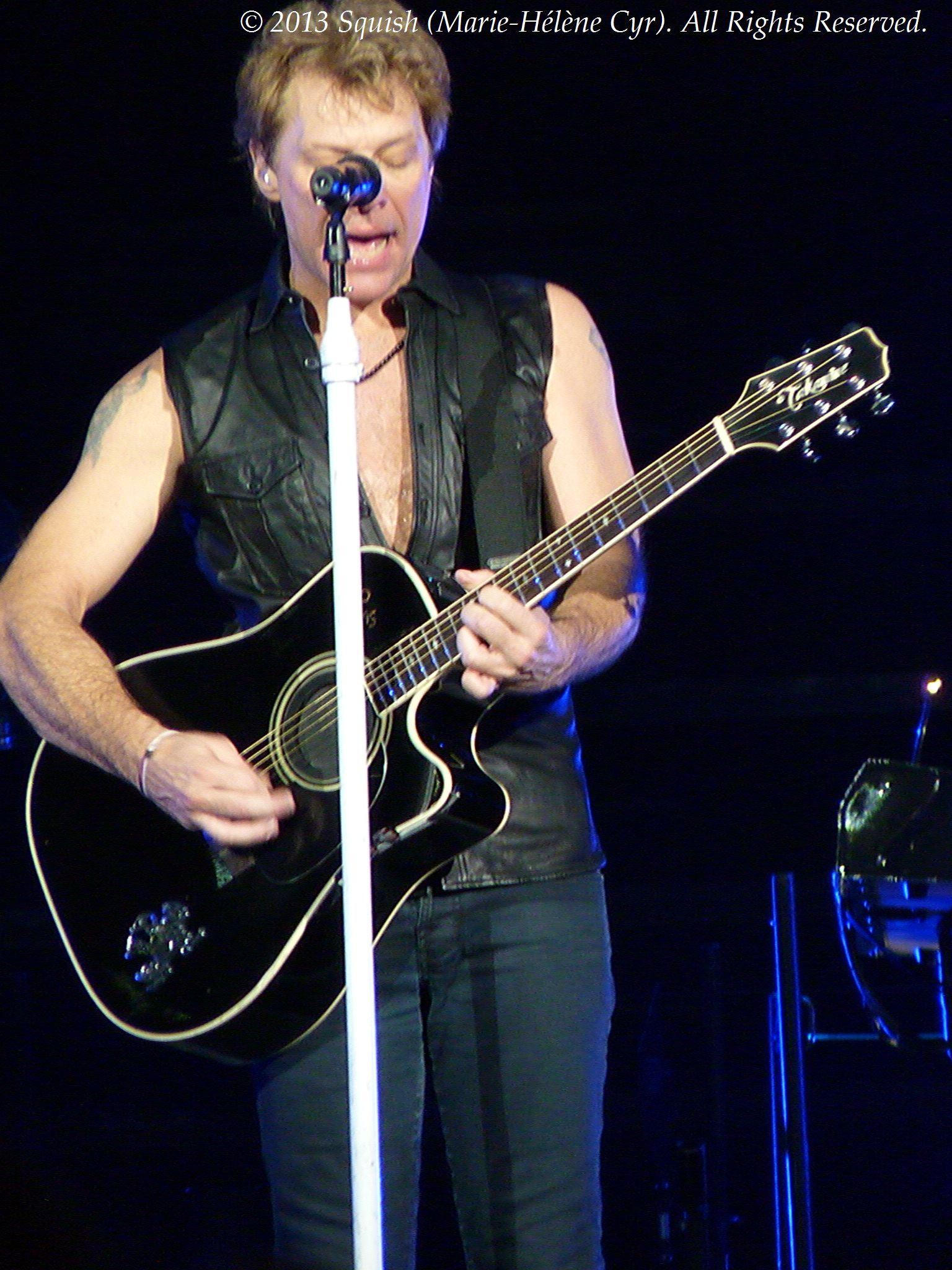 Bon Jovi - Air Canada Centre, Ontario, Canada (1er novembre 2013)